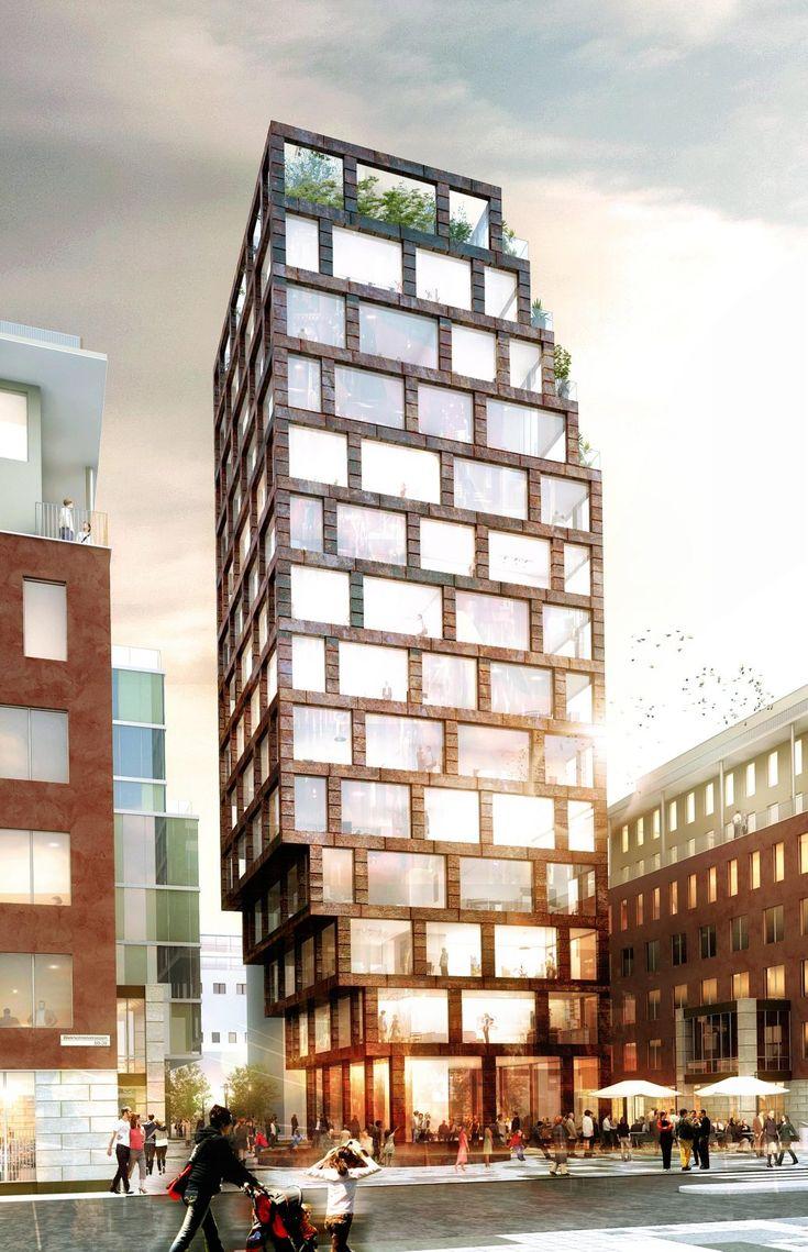 Kjellander Sjöberg - Klara Strand - Residential building