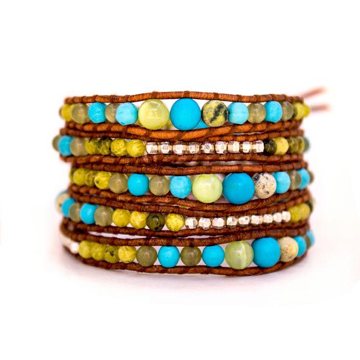 #Pulseras #Wrap ( #wrap #bracelets ) www.obsidianjoyasartesanales.cl