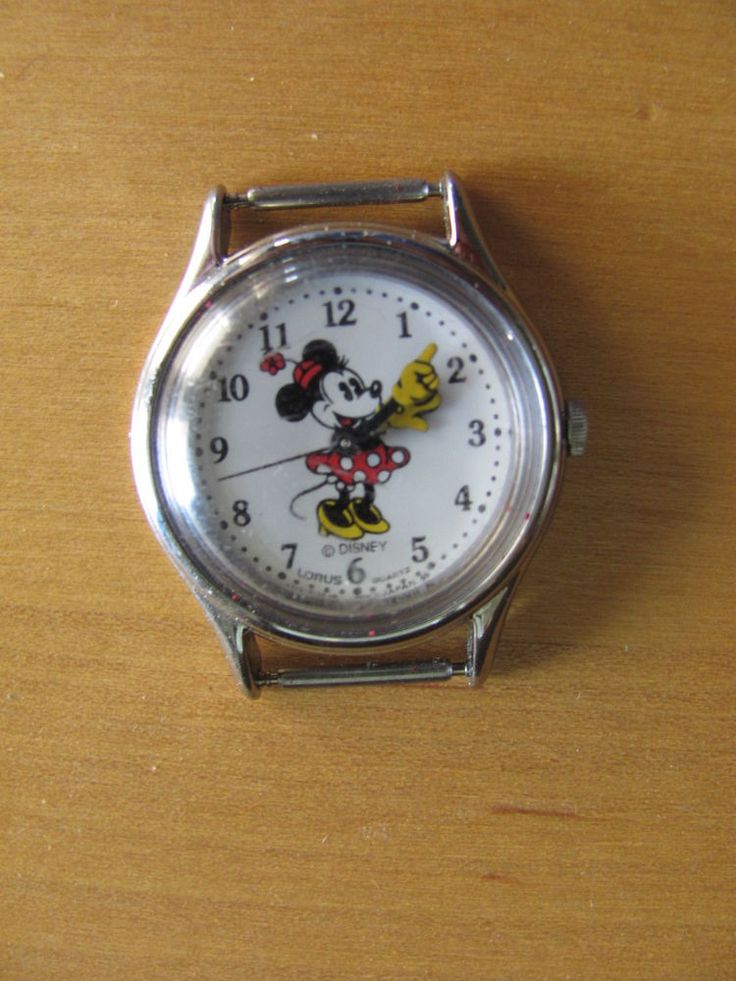 watch mouse vintage minnie