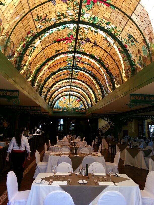 Restaurante Hotel Sta Ctuz en #Colchagua