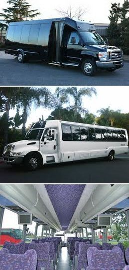 Our, Mini-Buses, are generally used for larger parties traveling longer distances such as group trips to sporting events, team travel, group trips to the casino.