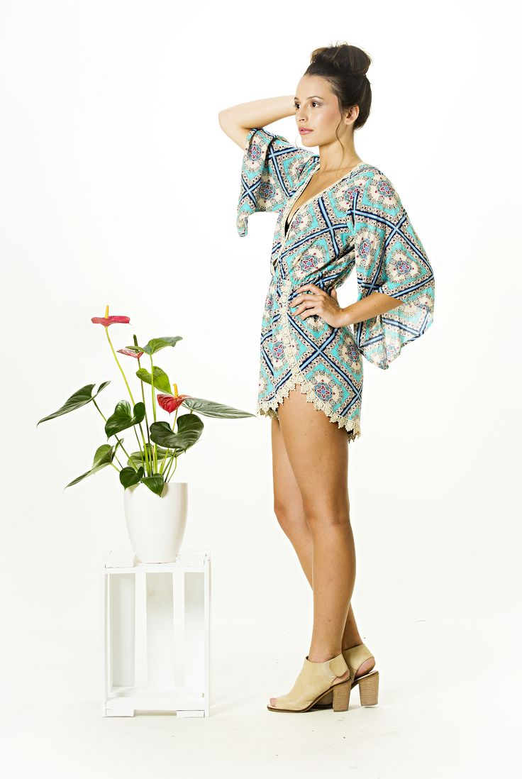 We cant get enough of the Dream On Playsuit. Perfect for the summer festival season. FREE SHIPPING IN NZ, Global shipping available Available now at http://www.vanillamayboutique.co.nz/products/dream-on-playsuit
