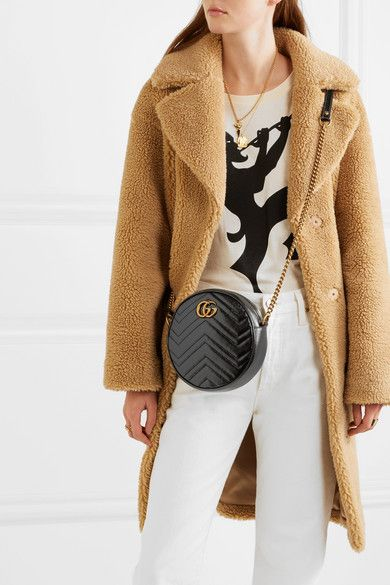 a373b57e5d91 Gucci | GG Marmont Circle quilted leather shoulder bag | NET-A-PORTER.COM