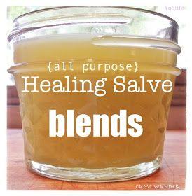Eczema Camp Wander: 3 NEW All~Purpose Healing Salve BLENDS!