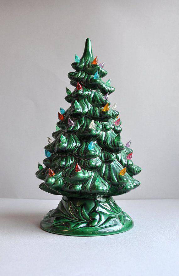 christmas tree ceramics the 25 best vintage ceramic christmas tree ideas on pinterest