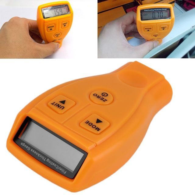 Diagnostic-tool Ultrasonic Thickness Gauge Paint Coating Thickness Gauge Digital Automotive Coating Ultrasonic Paint Iron Meter http://ali.pub/1uj42t