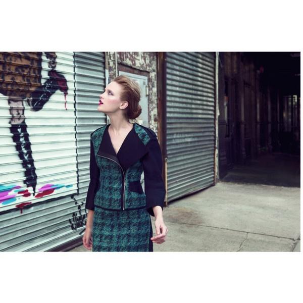 Vlada Roslyakova Hits the New York Streets for L'Officiel Turkey's... ❤ liked on Polyvore