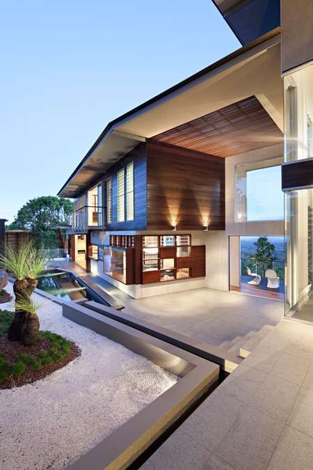 dream home..... Maleny House. two story contemporary home located in the Sunshine