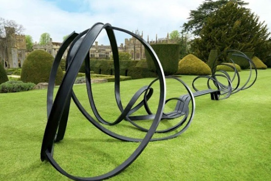 'Abstract Sculpture Bench'  by Pablo Reinoso  www.picpedia.com