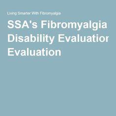 SSA's Fibromyalgia Disability Evaluation