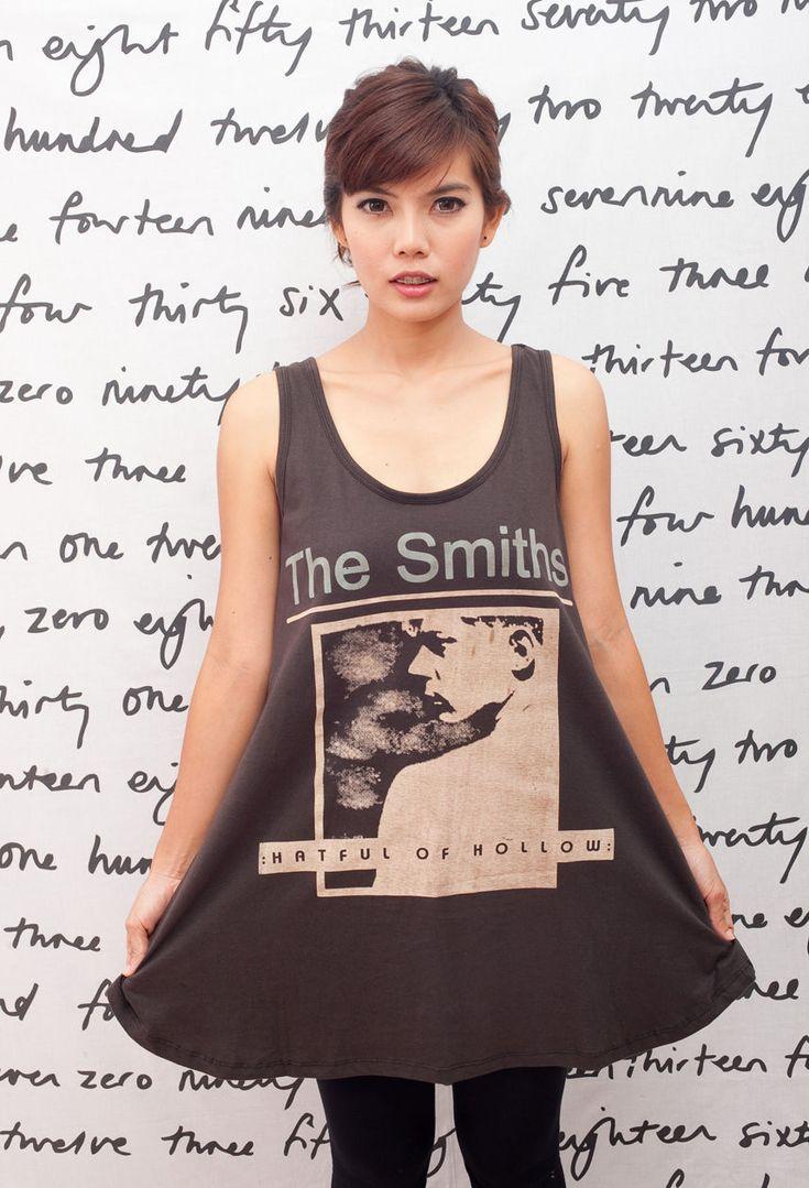 The Smiths Hatful Of Hollow Band Women T-Shirt Dress Tank Top Tunic Size M L
