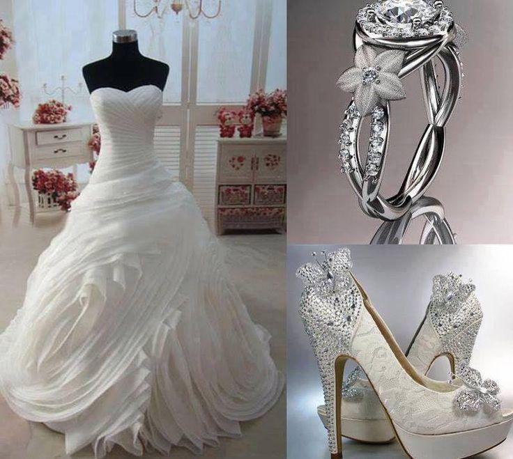 Unique Sleeveless Wedding Dress My Ideas