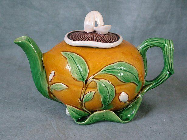 Antiques.com | Classifieds| Antiques » Antique Porcelain & Pottery » Antique Teapots & Tea Sets For Sale Catalog 4