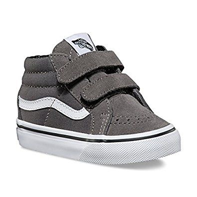 Amazon.com | VANS SK8-Mid Reissue V Suede/Canvas Sneakers Infant/Toddler Shoes | Sneakers