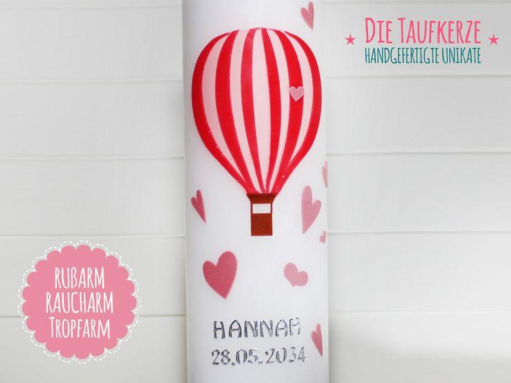 Taufkerze von Die Taufkerze auf DaWanda.com