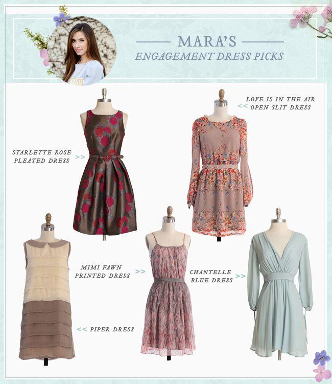 Mara's #Engagement Dress Picks: Dresses Pick