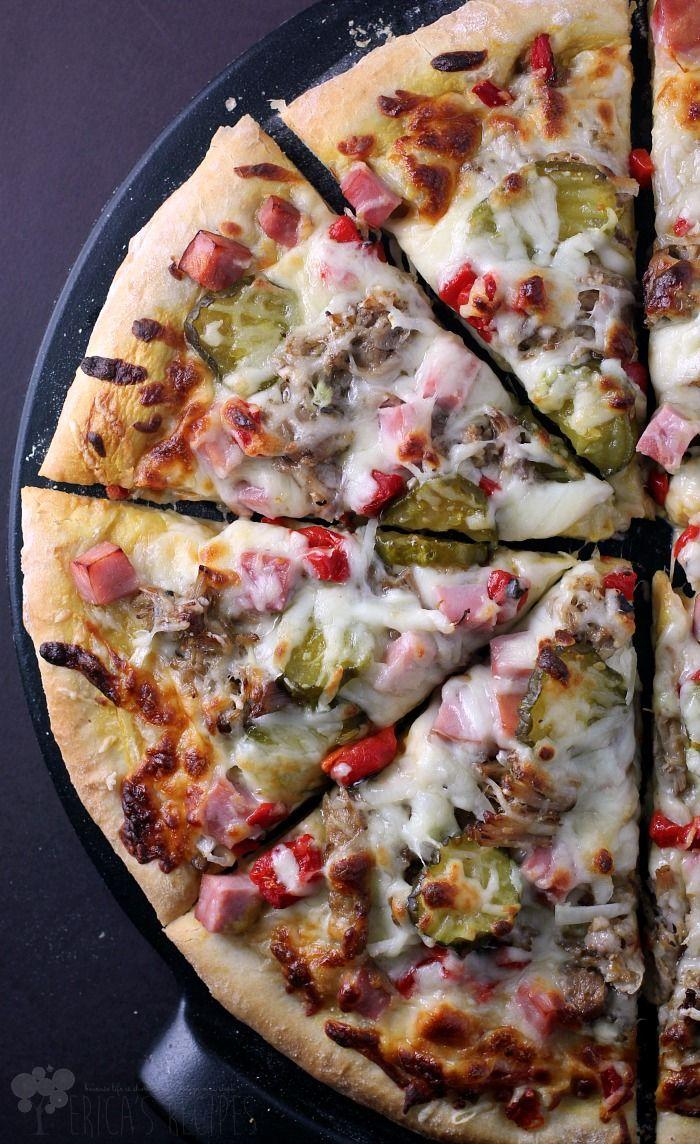 The Cuban Pizza from EricasRecipes.com