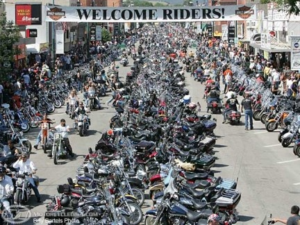 #ridecolorfully at Sturgis, SD