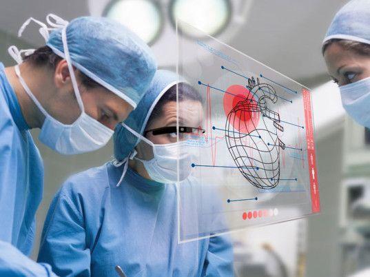 Google, Google Glass, medicine, healthcare, surgery, technology, safety, vital signs