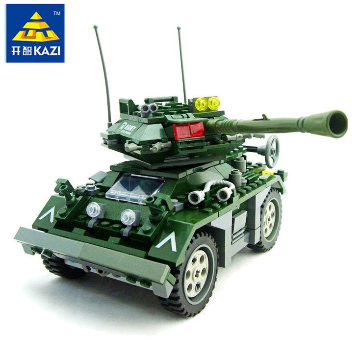 11.01$  Watch here - http://alint8.shopchina.info/go.php?t=32808489970 - KAZI 84003 351pcs 3D Plastic building block sets enlighten bricks blocks children toy DIY Military Czech Armored kids toys gift 11.01$ #bestbuy