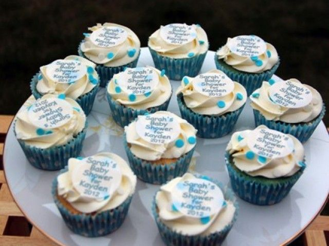 33 best baby shower cupcakes ideas images on pinterest for Baby shower cupcake decoration ideas