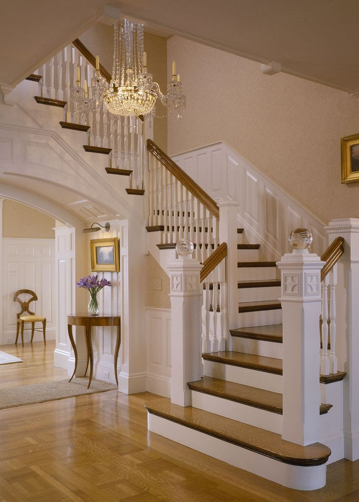 Restoring a charming victorian home look at the stunning final results charms staircases - Home entrance stairs design ...