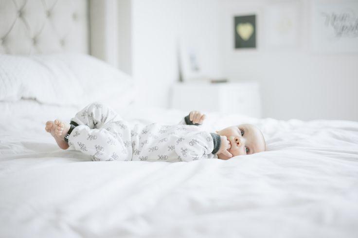 Organic Cotton skulls sleeper by little CITIZENS.