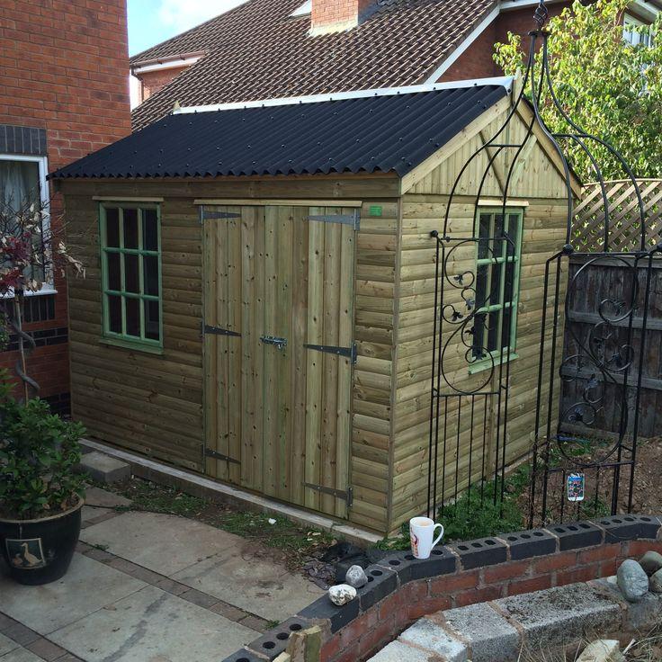 picture garden sheds workshops