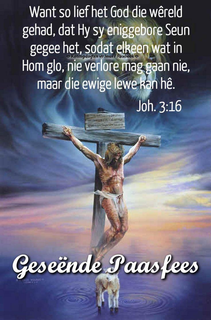 Christelike Boodskappies: Geseënde Paasfees