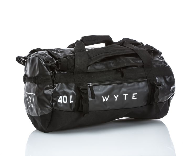 Wyte - Tarp Duffel 40L | | Svart | Sportamore.se
