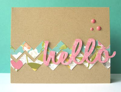 Card made by @Ashley Walters Walters Walters Harris using this week's free cut file.