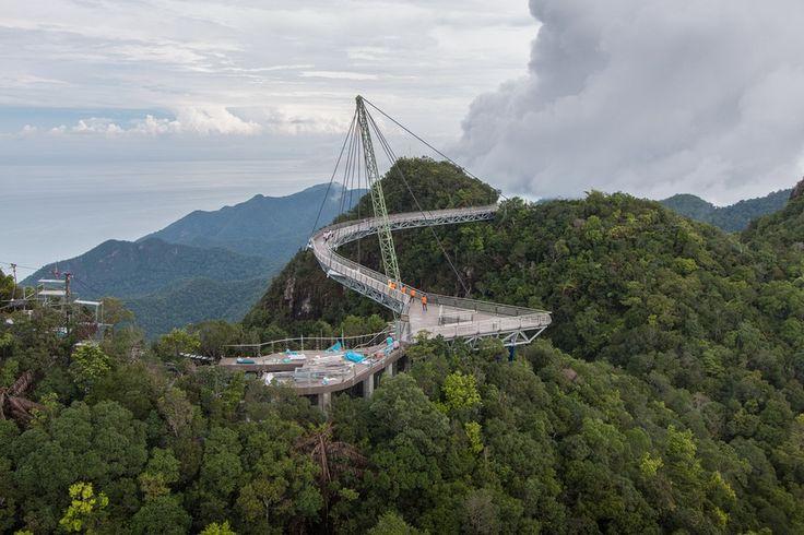 SkyBridge in Langkawi, Malaysia via @travelwitbender. #langkawi #malaysia #travel #wanderlust
