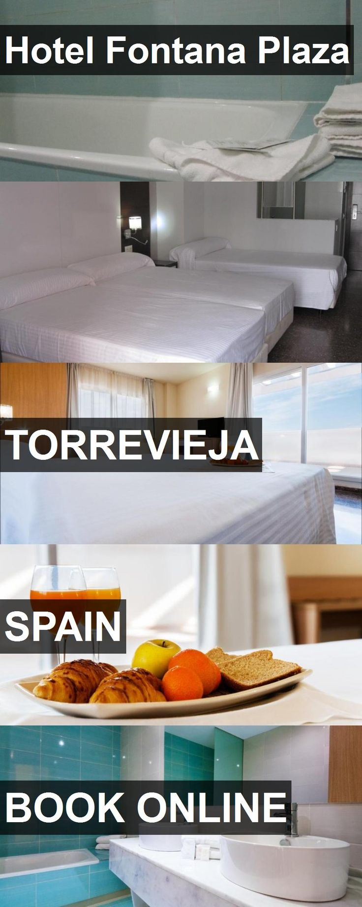 Hotel Fontana Plaza in Torrevieja, Spain. For more information, photos, reviews and best prices please follow the link. #Spain #Torrevieja #travel #vacation #hotel