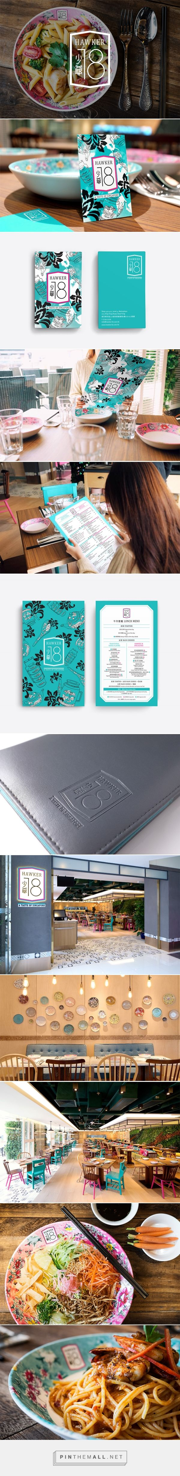 Hawker 18 Restaurant Branding and Menu Design by Trevor Wong | Fivestar Branding Agency – Design and Branding Agency & Curated Inspiration Gallery