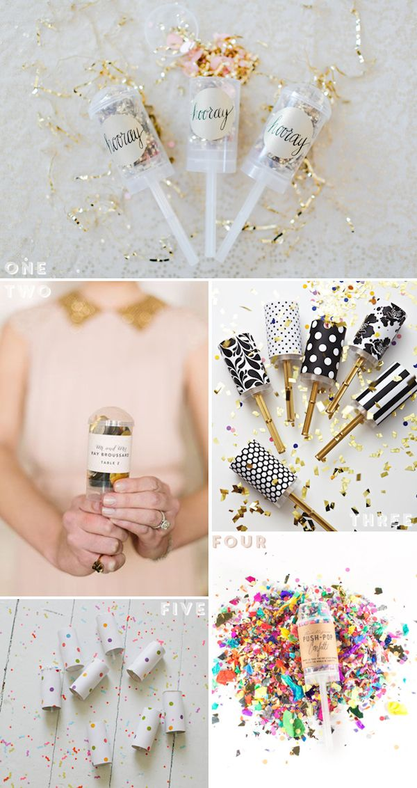 Guestpost: Push Pop Confetti DIY Roundup