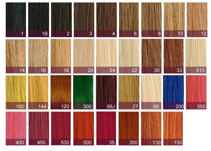redken hair colors