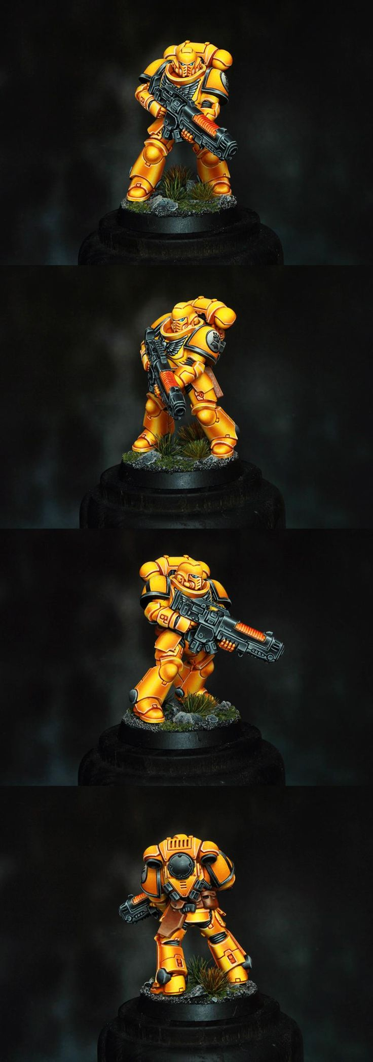 Imperial Fists Primaris Space Marine Hellblaster