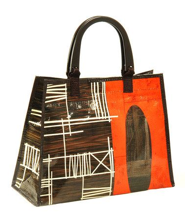 Loving this Crisscross Handbag made from recycled materials. Just 6 ...