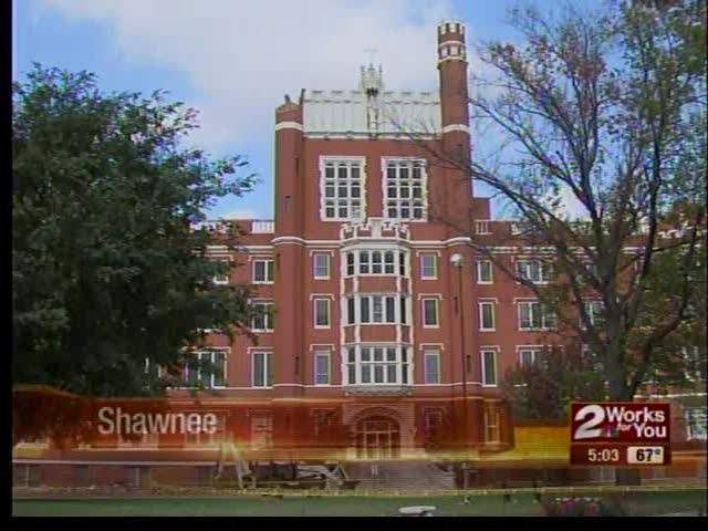 St. Gregory's historical building in Shawnee restored after strongest earthquake, 5.6, in Oklahoma history in July 2013 - KJRH.com
