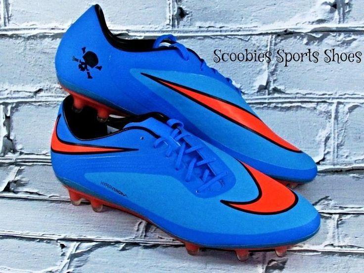 Nike Hypervenom Phatal FG Soccer Cleats Size 10.5 Blue/Crimson #Nike