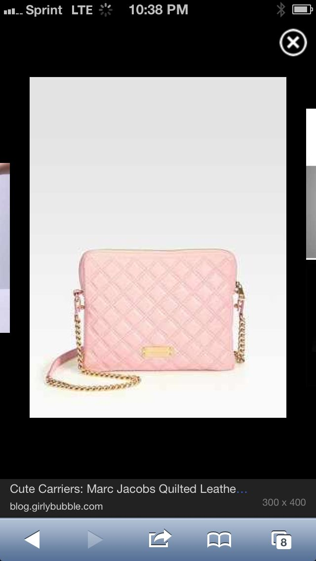 This is an iPad case that looks like a purse is it cute or what?