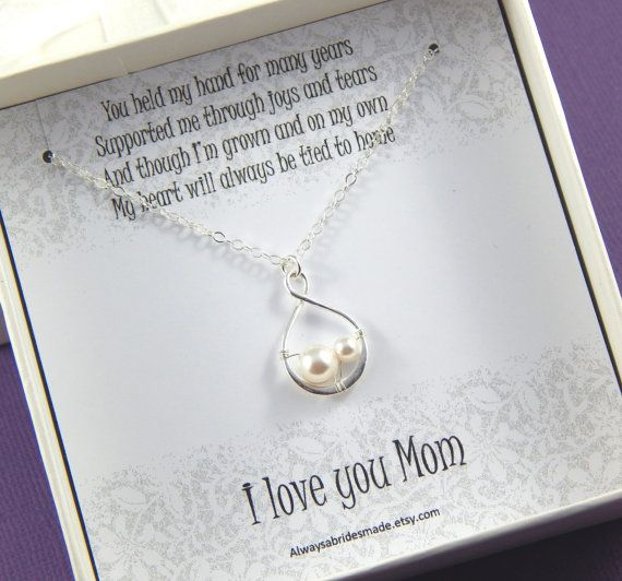 Mother Of The Bride Gift  Gift Boxed Jewelry by Alwaysabridesmade