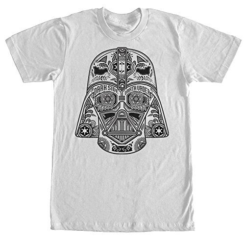 Star Wars Henna Darth Vader Helmet Print Mens Graphic T Shirt >>> Details can be found by clicking on the image.