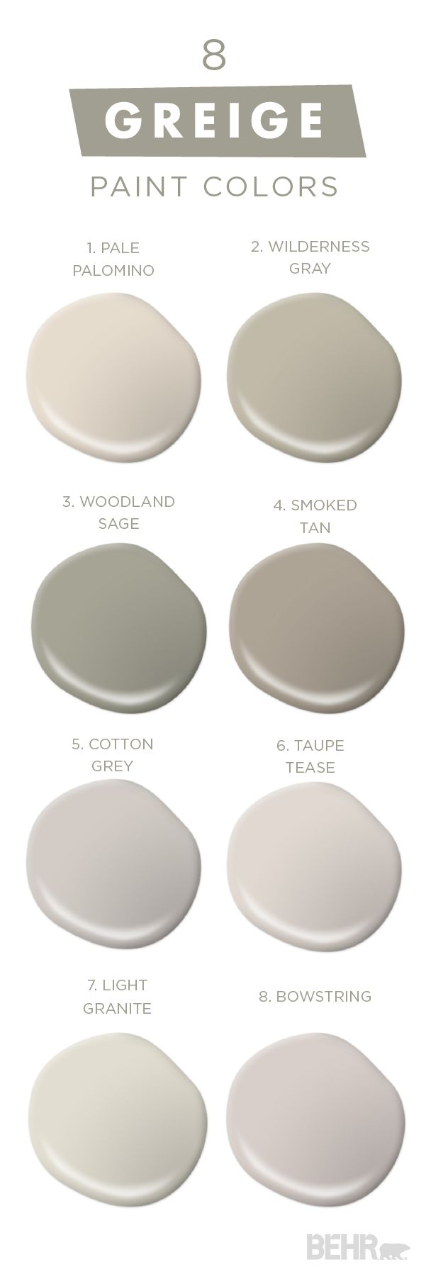 17 best images about grey greige color trend on pinterest for Shades of neutral colors