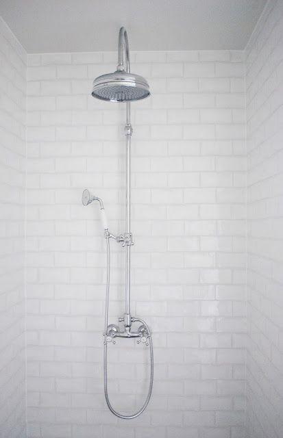 Julias Vita Drömmar...would love that shower head alone...