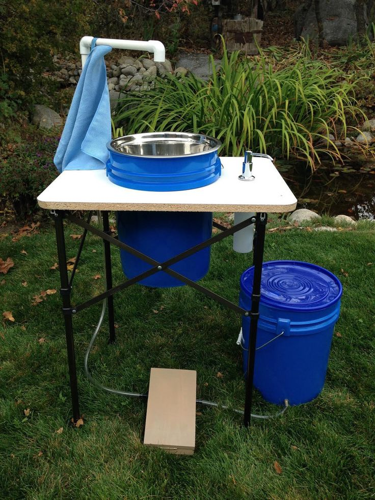 Temporary Kitchen Tents : Diy camping sink pictures to pin on pinterest daddy