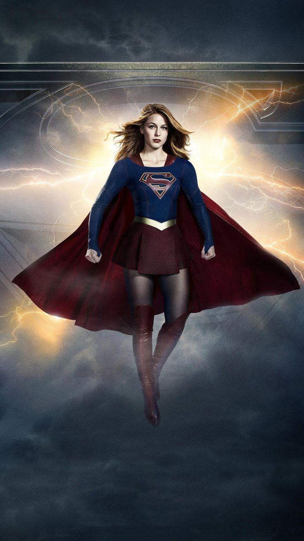 Supergirl Phone Wallpaper in 2020 Supergirl tv
