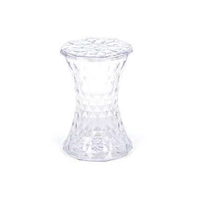 Kartellin Stone, täydellinen tuoli kampauspöydän ääreen.  Kartell Stone Stool | AllModern.