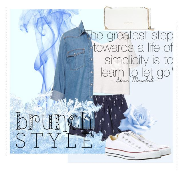 """""""Untitled #4"""" by gorgeousmofo on Polyvore featuring MANGO, Converse and Trina Turk"""