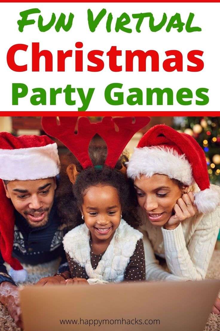 15 Best Games to Play on Zoom with Kids | Happy Mom Hacks in 2020 | Fun holiday games, Christmas ...